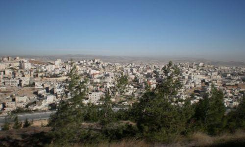 Zdjecie IZRAEL / - / Jerozolima / Widok z góry Scopus, na terenie Uniwersytetu Hebrajskiego