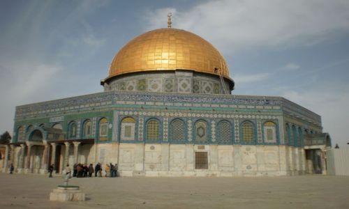 Zdjęcie IZRAEL / - / Jerozolima / Meczet Skały