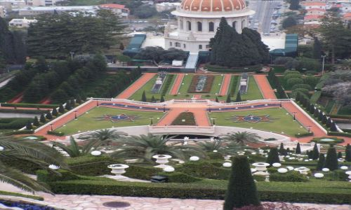 Zdjecie IZRAEL / Hajfa / Hajfa / Bahaim garden