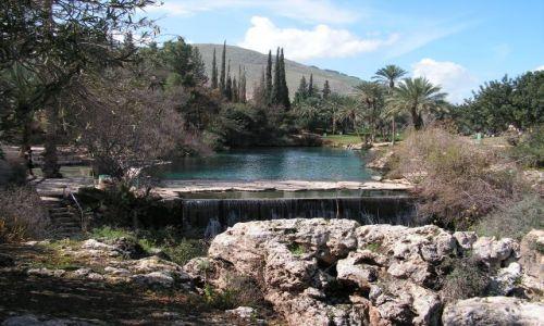 Zdjecie IZRAEL / Bet - She'an / Bet - She'an / Fajne miejsce do pływania
