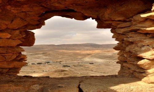 IZRAEL / - / MASADA / PUSTYNIA - WIDOK Z MASADY