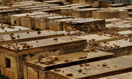 Zdjecie IZRAEL / - / Jerozolima / Cmentarz
