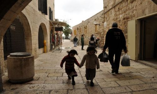 Zdjęcie IZRAEL / - / Jerozolima / Stare miasto - dzielnica żydowska