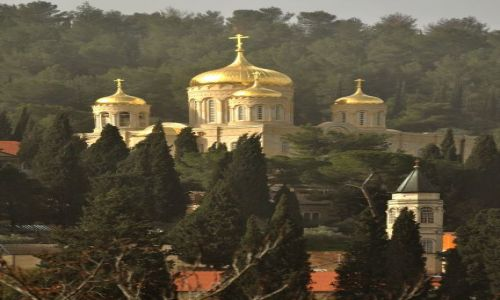 Zdjecie IZRAEL / - / Jerozolima / Cerkiew św. Marii Magdaleny