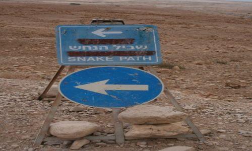 Zdjecie IZRAEL / Morze Martwe / Masada / wejście na Masa