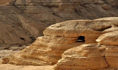 IZRAEL / - / Qurman / Qurman - jaskinia w której odnaleziono zwoje esseńczyków
