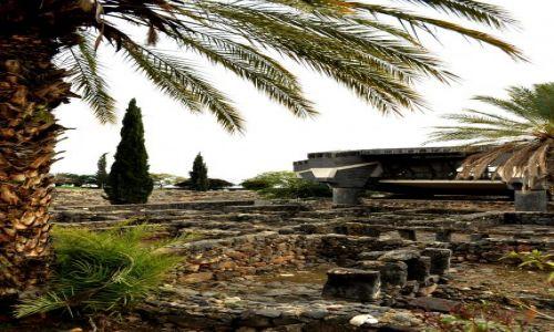 Zdjecie IZRAEL / - / Cafarnaum - Tyberiada / Synagoga