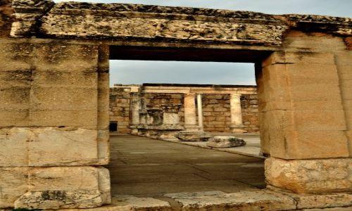 IZRAEL / - / Cafarnaum - Tyberiada / Synagoga