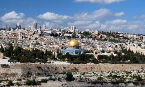 Zdjecie IZRAEL / Bliski Wschód / Jerozolima / Widok na Święte Miasto..