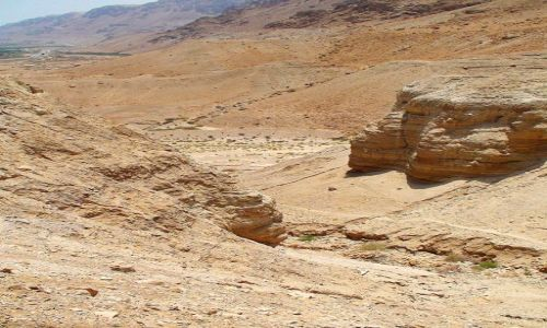 IZRAEL / Rejon Morza Martwego / Qumran / Święta Ziemia cd.