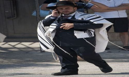 Zdjecie IZRAEL / JEROZOLIMA / ... / biznesmen