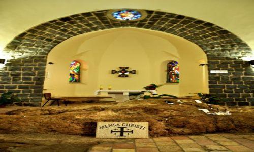 IZRAEL / - / Kafarnaum / Kościół rozmnożenia chleba i ryb (Prymatu św. Piotra)