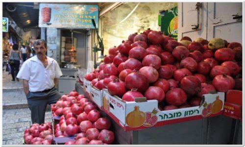 Zdjecie IZRAEL / - / Jerozolima / Sprzedawca granatów