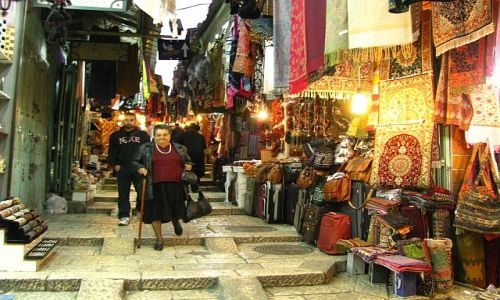 Zdjecie IZRAEL / stare miasto / Jerozolima / El - Bazar
