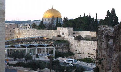 IZRAEL / Judea / Jerozolima / meczet Kopuła Skały