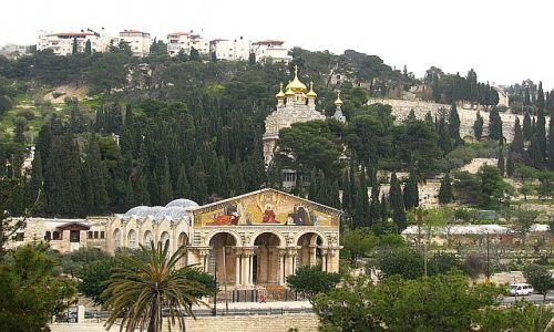 Zdjęcie IZRAEL / Judea / Jerozolima / Kościół Konania i cerkiew Marii Magdaleny