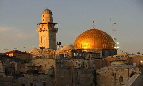 IZRAEL / Judea / Jerozolima / Zachód słońca
