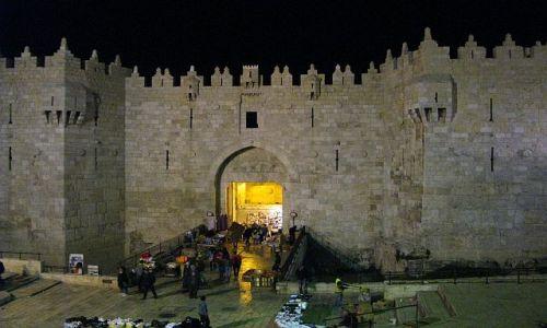 Zdjęcie IZRAEL / Judea / Jerozolima / Brama Damasceńska