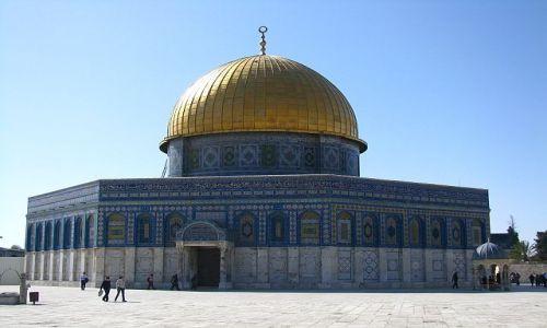 Zdjęcie IZRAEL / Judea / Jerozolima / meczet Kopuła Skały