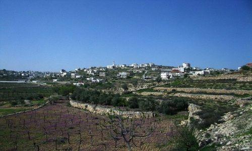 Zdjecie IZRAEL / Zachodni Brzeg / trasa Jerozolima Hebron / Wzgórza Judei