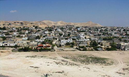 IZRAEL / Zachodni Brzeg / Jerycho / panorama