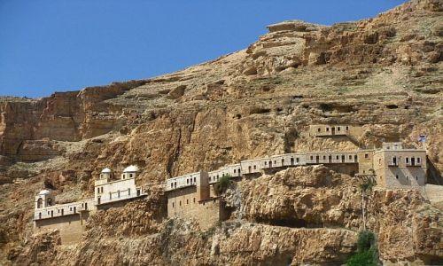Zdjecie IZRAEL / Zachodni Brzeg / Jerycho / klasztor grecki