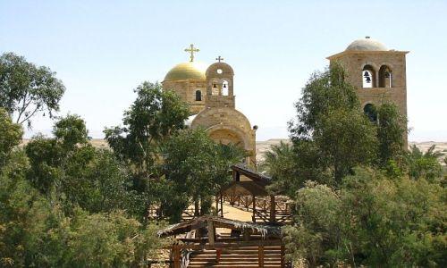Zdjecie IZRAEL / Zachodni Brzeg / Jordan / miejsce chrztu Chrystusa