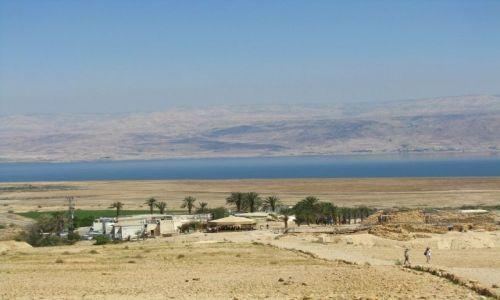 IZRAEL / Morze Martwe / Qumran / panorama