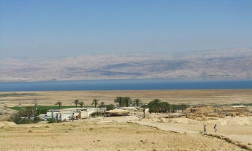 Zdjęcie IZRAEL / Morze Martwe / Qumran / panorama