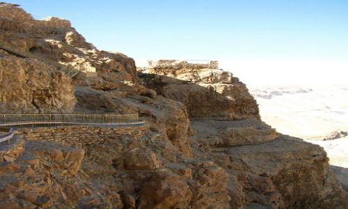IZRAEL / Morze Martwe / Masada / pałac północny