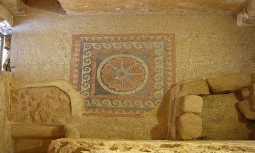 IZRAEL / Morze Martwe / Masada / pałac zachodni