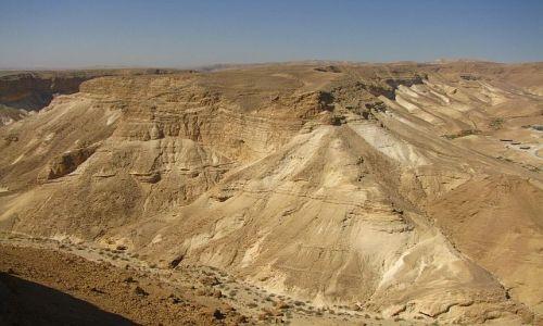 IZRAEL / Morze Martwe / Masada / pustynia Judzka