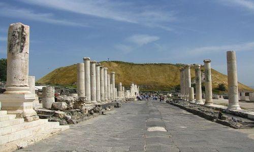 Zdjęcie IZRAEL / Galilea / Beit Szean / Scytopolis