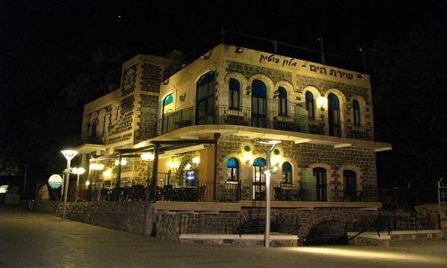 IZRAEL / Galilea / Tyberiada / wieczorny spacer
