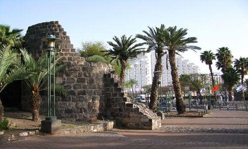 Zdjęcie IZRAEL / Galilea / Tyberiada / poranek w mieście
