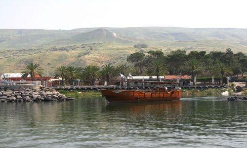 Zdjęcie IZRAEL / Galilea / kibutz Ein Gev / jezioro Genezaret