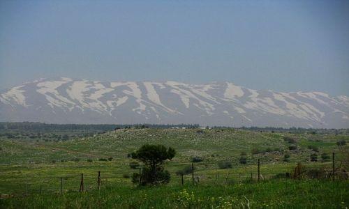 Zdjęcie IZRAEL / Galilea / wzgórza Golan / góra Hermon