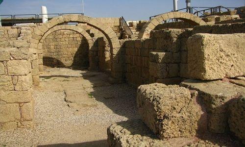 Zdjęcie IZRAEL / Wybrzeże Północne / Cezarea / kompleks łaźni