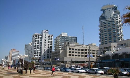 IZRAEL / Tel Awiw / Tel Awiw / promenada nadmorska