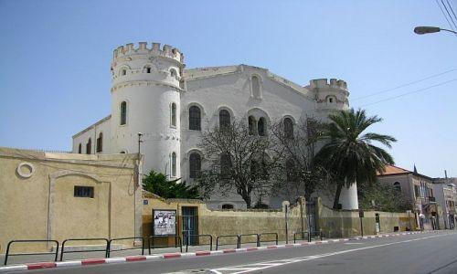 IZRAEL / Tel Awiw / Jaffa / ulica w Jaffie