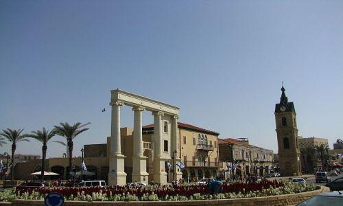 Zdjęcie IZRAEL / Tel Awiw / Jaffa / ulica w Jaffie