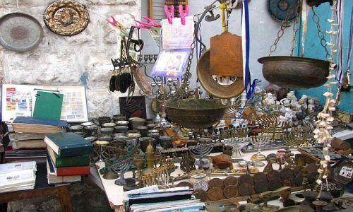 IZRAEL / Tel Awiw / Jaffa / pchli targ