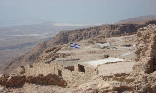 Zdjecie IZRAEL / - / MASADA / TWIERDZA MASADA