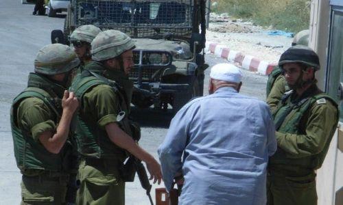 Zdjecie IZRAEL / Palestyna / Huwara,izraelski checkpoint w drodze do Nablusu / Okupacja