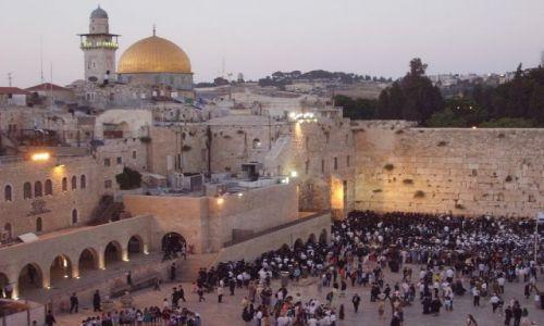 Zdjecie IZRAEL / Palestyna / Jerozlima / Piątkowy wieczór