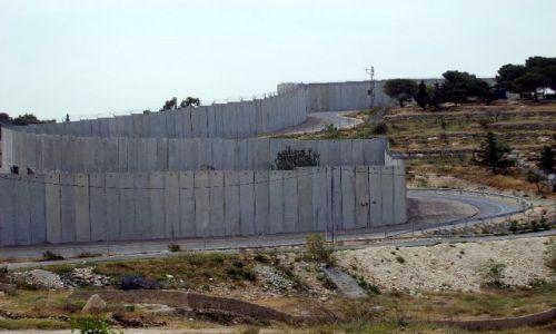 Zdjecie IZRAEL / Palestyna / Abu Dis / Mur