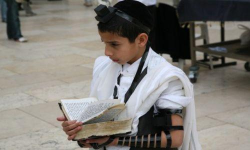 Zdjęcie IZRAEL / Jerozolima / Pod Ścianą Płaczu / Nowicjusz