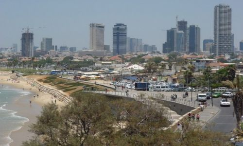 IZRAEL / - / Tel Aviv / Tel Awiw - widok z Jafy