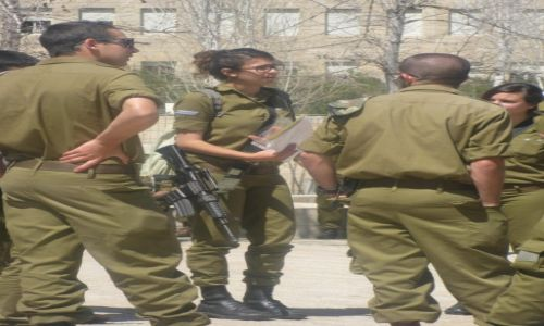 Zdjecie IZRAEL / - / plac / Konkurs kobieta w...