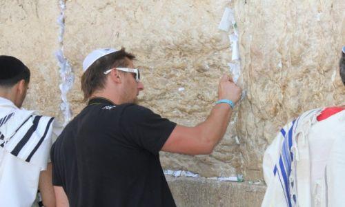 Zdjecie IZRAEL / palestyna / sciana placzu / ozzi